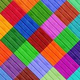 Formes de diamant de Colorfull Photos stock