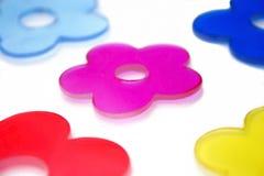 Formes de fleur image stock
