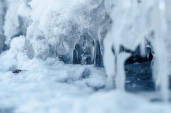 Formes de glace. Photos libres de droits