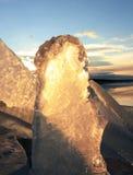 Formes de glace Photographie stock libre de droits