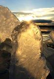 Formes de glace Photographie stock