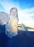 Formes de glace Images libres de droits