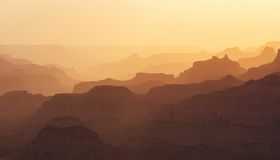 Formes de Grand Canyon Images stock