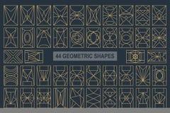 Formes de grectangle de vecteur illustration de vecteur