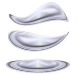 Formes de l'eau Images stock