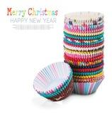 Formes de papier de Noël pour des petits gâteaux Image libre de droits