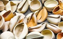 Formes de poterie Photos libres de droits