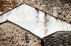 Formes de toit Photos libres de droits