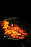 Formes du feu Image stock