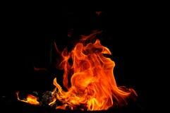 Formes du feu Images libres de droits