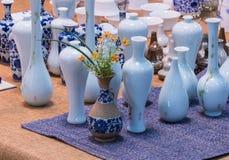 Formes du vase Photos libres de droits