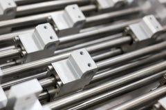 Formes en aluminium en métal structurel Image stock