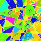 Formes et couleurs abstraites Image libre de droits