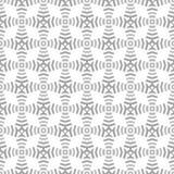 Formes et lignes grises sans couture géométriques de modèle Photo stock