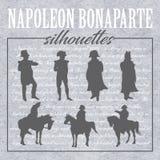 Formes et silhouettes de napoléon illustration libre de droits