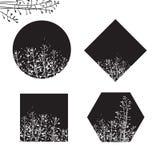 Formes florales Photographie stock libre de droits