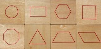 Formes géométriques Photos libres de droits