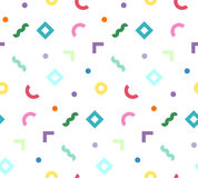 Formes géométriques colorées Images stock