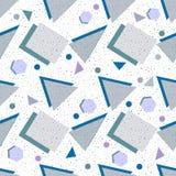 Formes géométriques de fond sans couture illustration de vecteur