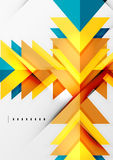 Formes géométriques futuristes, conception minimale Photo libre de droits