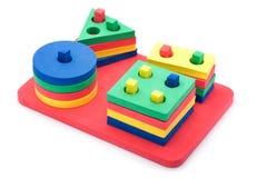Formes géométriques réglées pour des enfants Photographie stock libre de droits