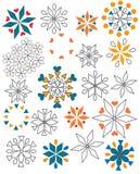 Formes multicolores Images libres de droits