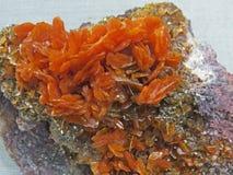 Formes normales Minerais et textures et milieux semi-précieux de pierres Photo libre de droits