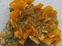 Formes normales Minerais et textures et milieux semi-précieux de pierres Images libres de droits