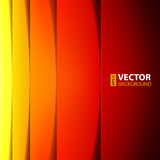Formes rouges, oranges et jaunes abstraites de rectangle Photo stock