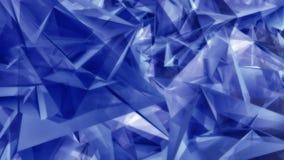 Formes triangulaires bleues géométriques illustration de vecteur