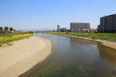 Formez la vue d'Osaka à Nara, Japon Image stock
