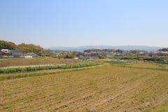 Formez la vue d'Osaka à Nara, Japon Images libres de droits