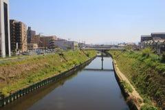 Formez la vue d'Osaka à Nara, Japon Photographie stock