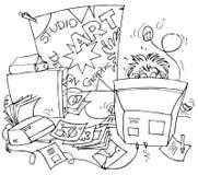formgivare stock illustrationer