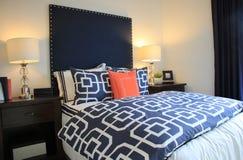 Formgivare Bedroom Setting royaltyfri fotografi