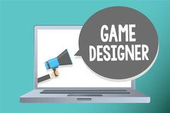 Formgivare för lek för handskrifttexthandstil Man det menande förkämpePIXELet för begreppet som skriver diagram för programmerare vektor illustrationer