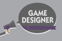 Formgivare för lek för textteckenvisning Det begreppsmässiga fotoförkämpePIXELet som skriver diagram för programmerarekonsoler 3D stock illustrationer