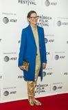 Formgivare Jenna Lyons Arrives på den Tribeca filmfestivalpremiären 2017 av ` min konst`, Arkivbilder