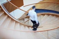 Formgivare Spiral Staircase Arkivbilder