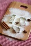 Formi per i biscotti Fotografia Stock