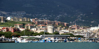 Formia city Royalty Free Stock Photo