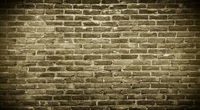 Formierza ściana z cegieł tło Obraz Royalty Free