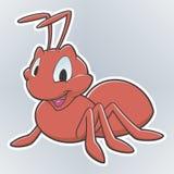 Formiga dos desenhos animados Imagens de Stock Royalty Free