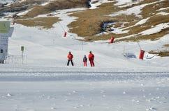 Formigal skidar semesterorten utan snö Royaltyfri Fotografi