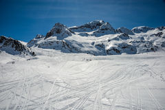Formigal winter resort, Spain. Stock Photos