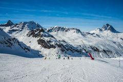 Formigal winter resort, Spain. Stock Image