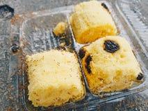 Formigas no pão Foto de Stock Royalty Free