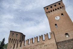 Formigine Modena, Itália: castelo Imagens de Stock