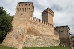 Formigine Modena, Itália: castelo fotografia de stock royalty free