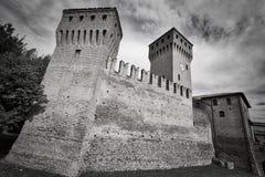 Formigine Modena, Itália: castelo Fotos de Stock Royalty Free
